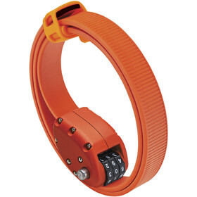 OTTOLOCK Cinch Lock Bike Lock 75 cm orange